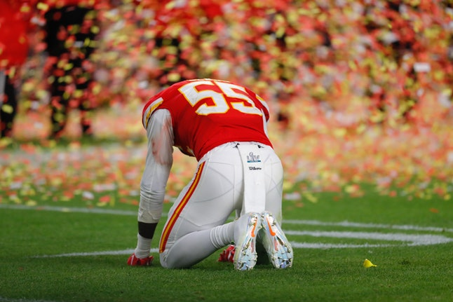 The Kansas City Chiefs won the Super Bowl for the first time in 50 years.