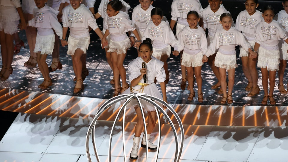J. Lo and Shakira's halftime show gave separated families center stage at the Super Bowl.