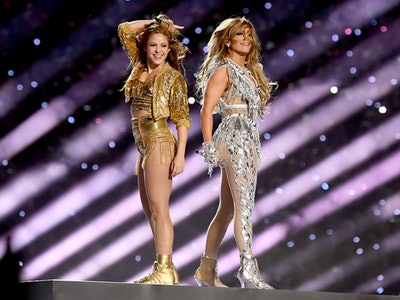J. Lo and Shakira on stage during the Super Bowl halftime show brought a sense of unity.