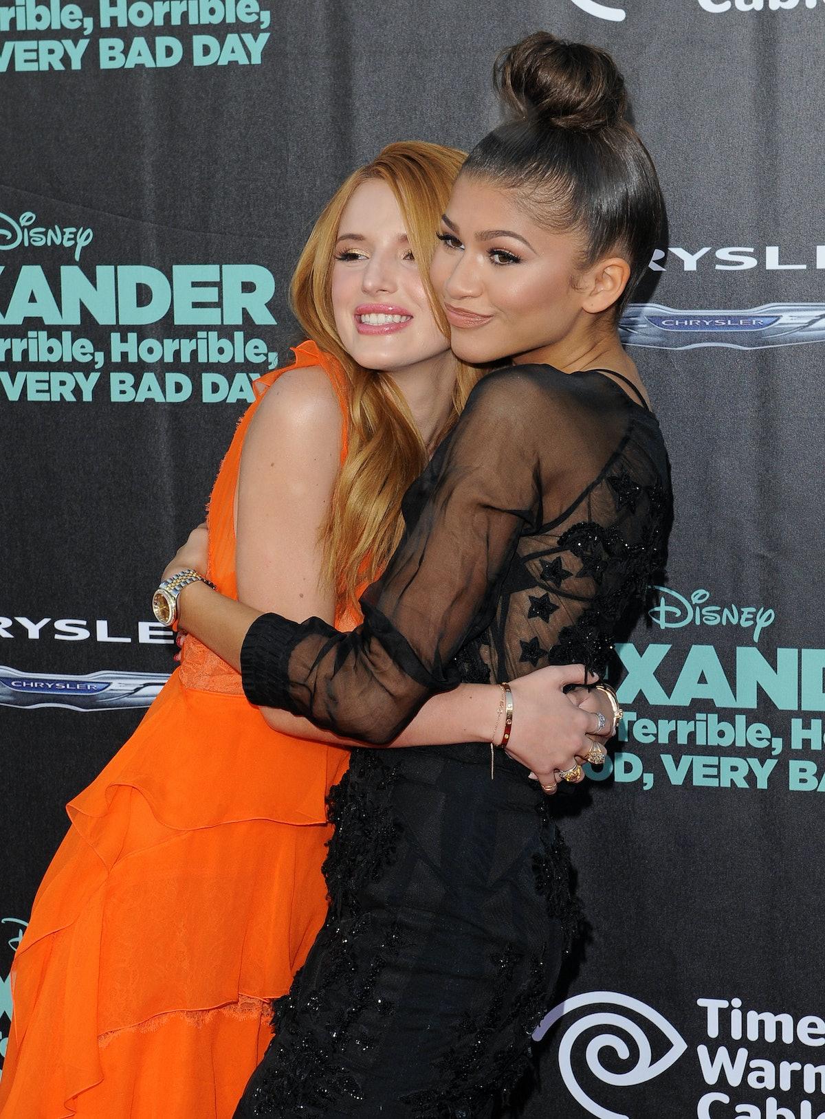 Zendaya & Bella Thorne Are Still Friends
