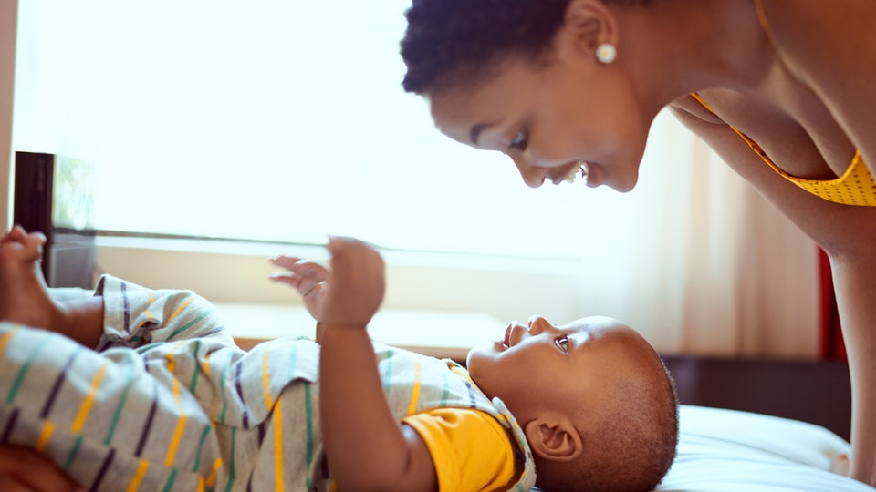 There is a special universal language parents use to talk to their babies that helps them develop, according to science.