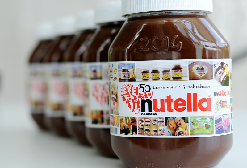 Nutella is giving away free Nutella in honor of World Nutella Day.