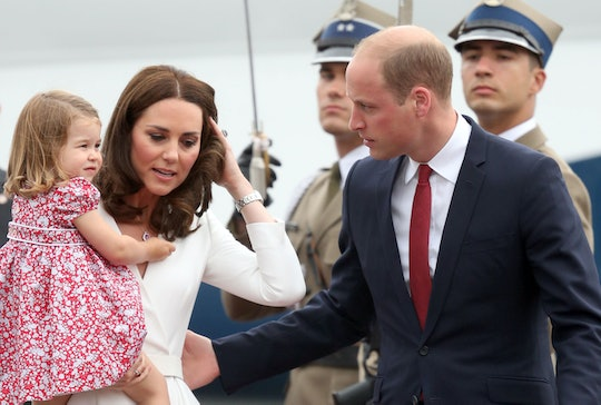 Prince William made a sweet comment about his daughter Princess Charlotte that complimented his wife...