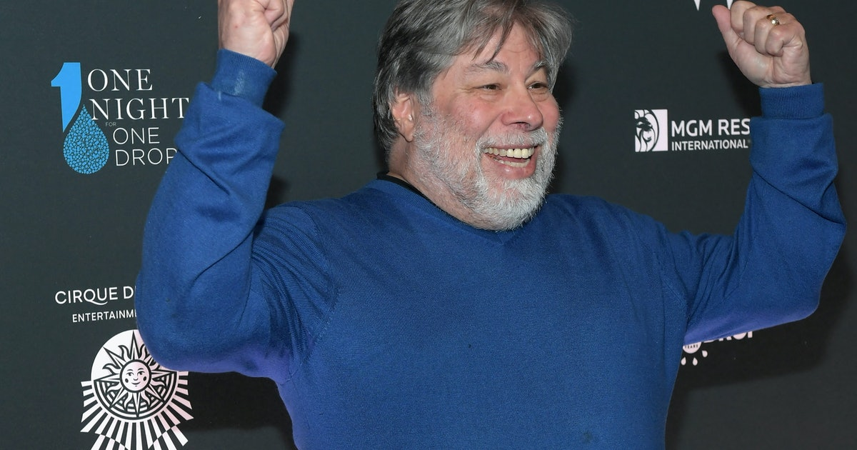 Steve Wozniak is still an Apple employee and still collects paychecks