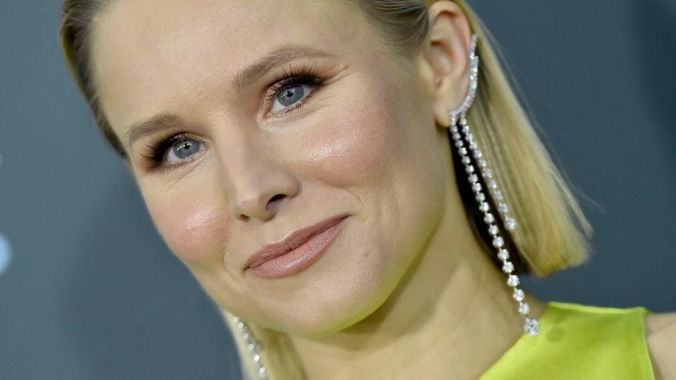 Kristen Bell's daughter decided to wash her hair with Vaseline instead of shampoo.