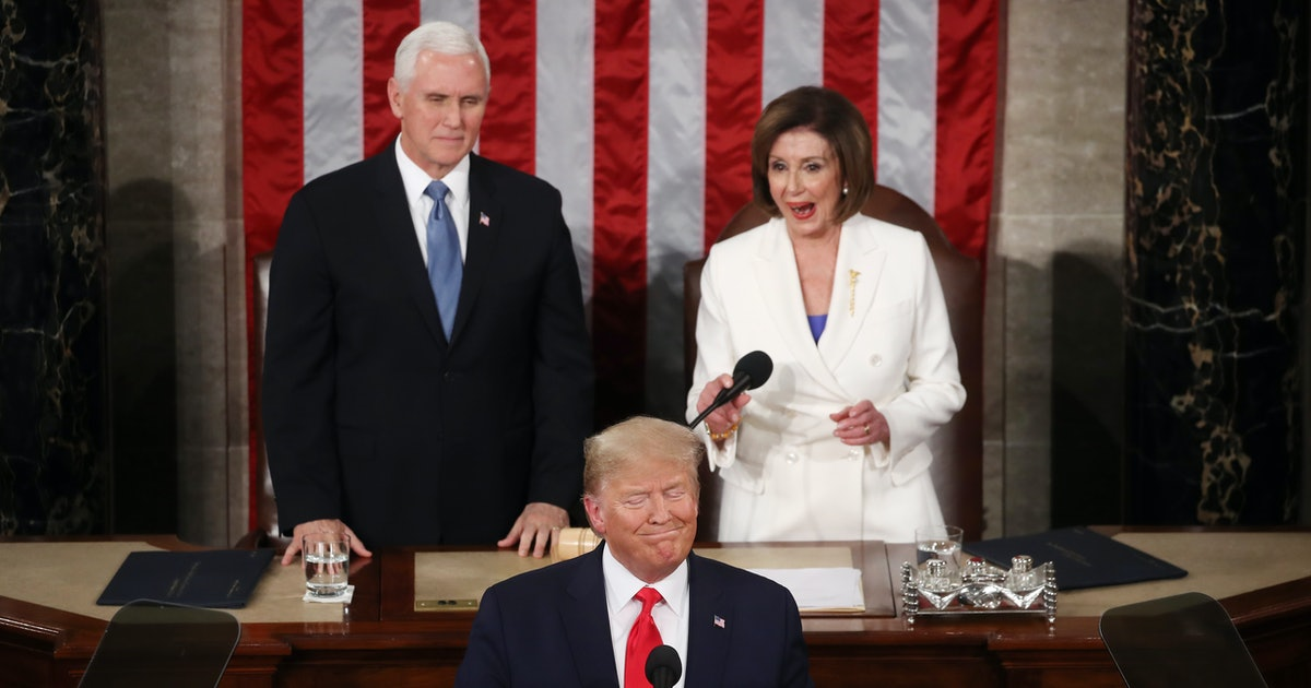 These Tweets About Nancy Pelosi's Reactions At The 2020 State Of The Union Are Something Else