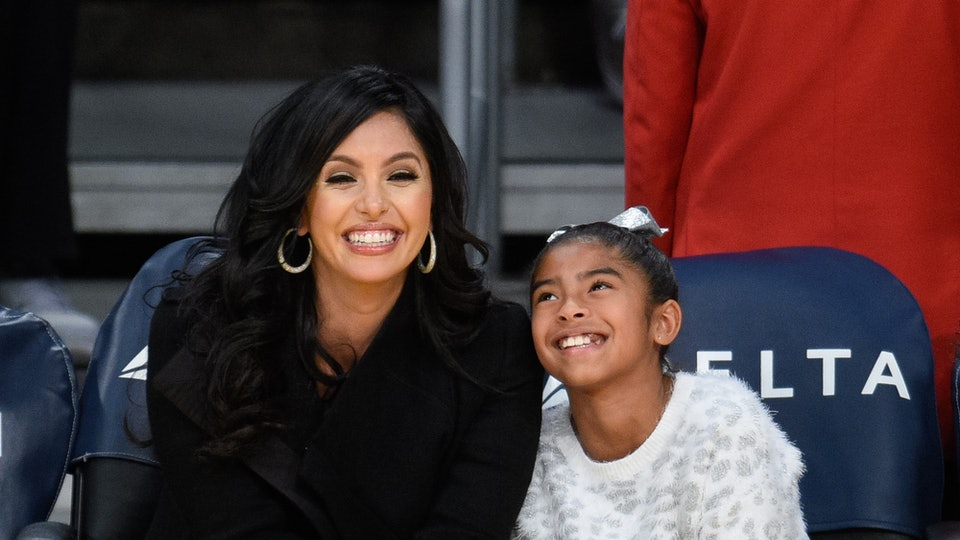 Vanessa Bryant's message to her daughter Gianna is that her love for her has no end.