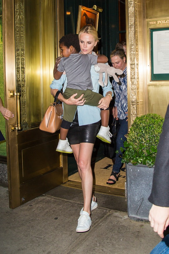 Charlize Theron is a mom to two daughters