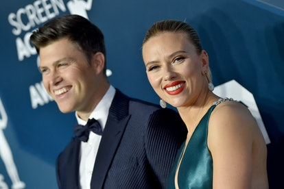 Johansson is engaged to SNL's Colin Jost