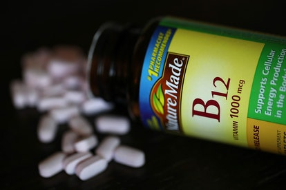 B12 supplements. Diets that don't include meat can result in some dietary deficiencies like lower levels of B12 vitamins.