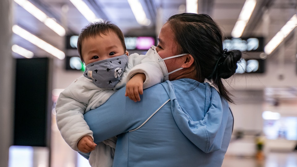 Two newborns in China have tested positive for the novel coronavirus, raising questions about how the virus is transmitted.