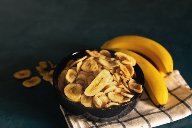 Bananas on a plate. Vegetarians should look at their nutritional needs when they're becoming plant-based for the first time, say nutritionists.