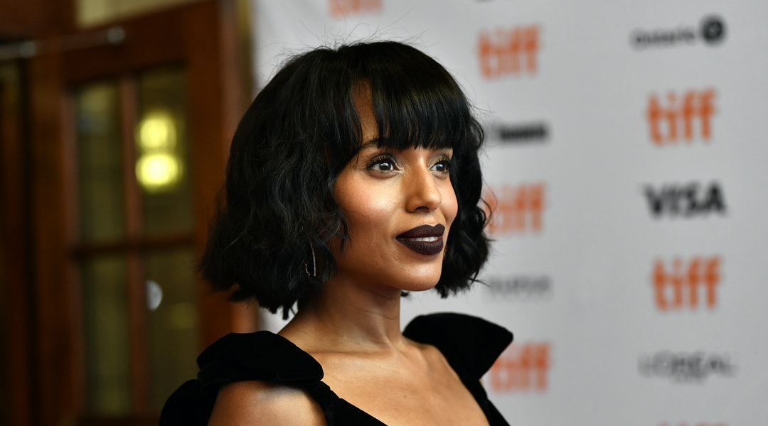 Kerry Washington, Taylor Swift, Zoe Kravitz, and other celebrities are loving short haircuts with bangs