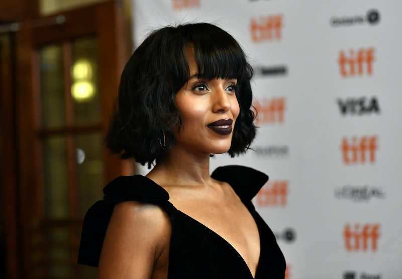 Kerry Washington, Taylor Swift, Zoe Kravitz, and other celebrities are loving short haircuts with ba...
