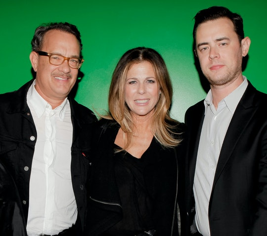 Tom Hanks is a man who loves his kids.