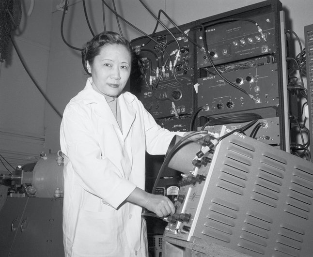 Chien-Shiung Wu disproved a major law of physics