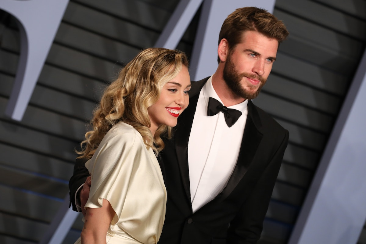 Miley Cyrus & Liam Hemsworth reportedly attended the same party ahead of the Oscars this Sunday.