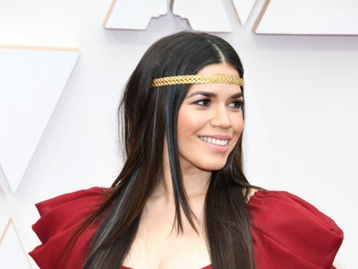 America Ferrera was vague when she was asked about her due date on the red carpet ahead of the 2020 Oscars.