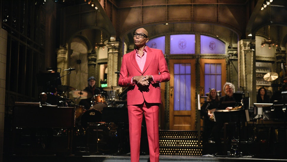 RuPaul hosted 'Saturday Night Live' on Feb. 8 with musical guest Justin Bieber.