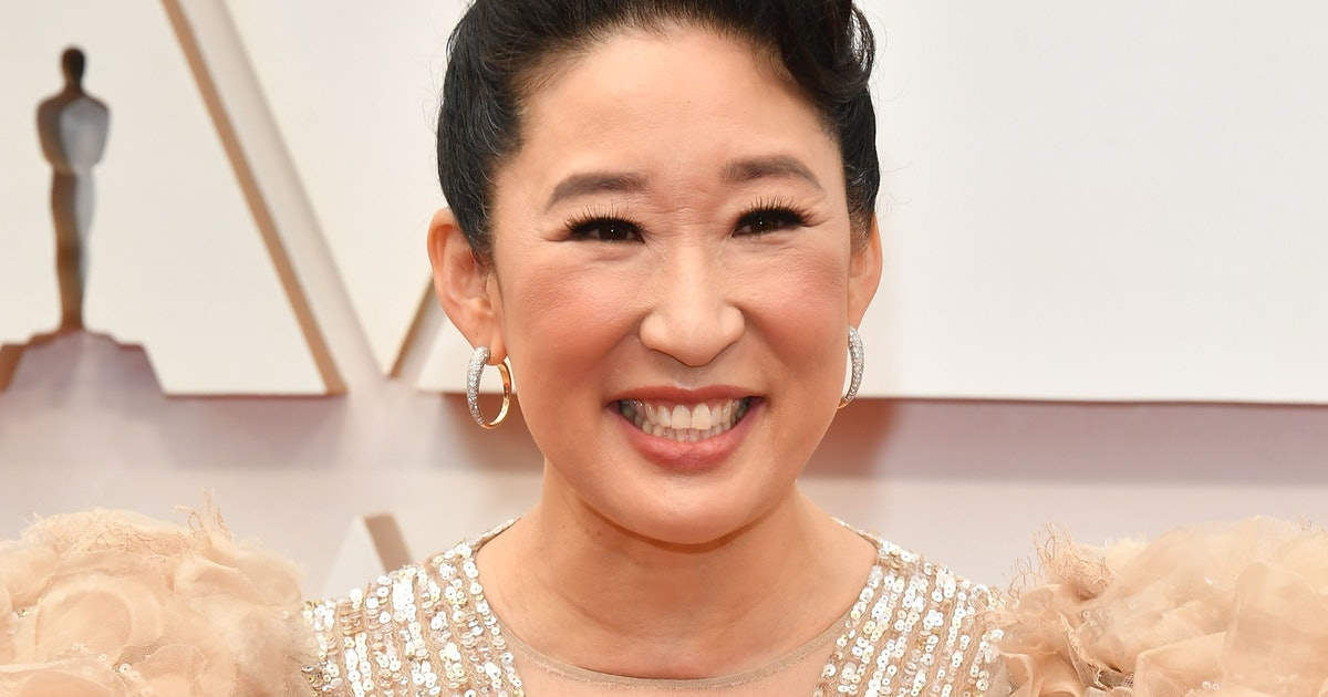 Sandra Oh's 2020 Oscars Gown Is Totally Angelic