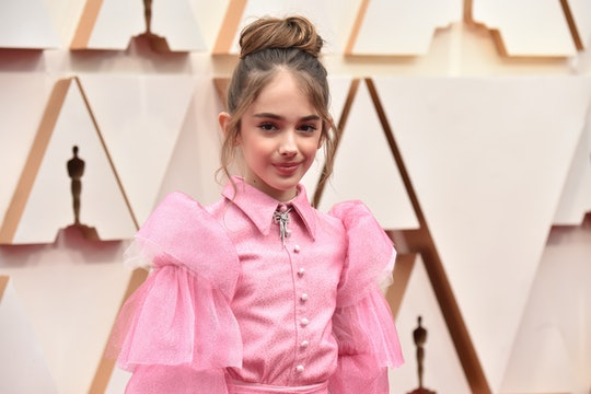 Julia Butters brought a sandwich to the Oscars