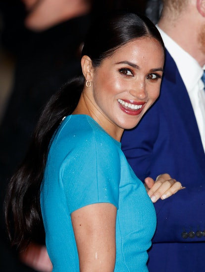 Meghan Markle's makeup was the most she's ever worn.