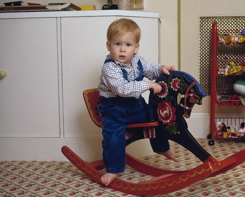 Prince Harry was an adorable little boy