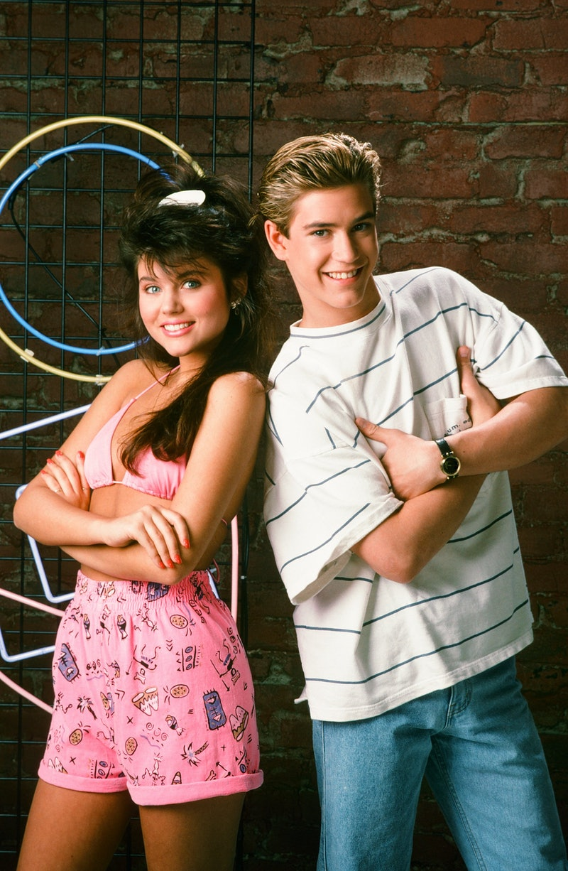 Mark-Paul Gosselaar & Tiffani Thiessen will appear in the 'Saved by the Bell' reboot as Zack and Kelly.