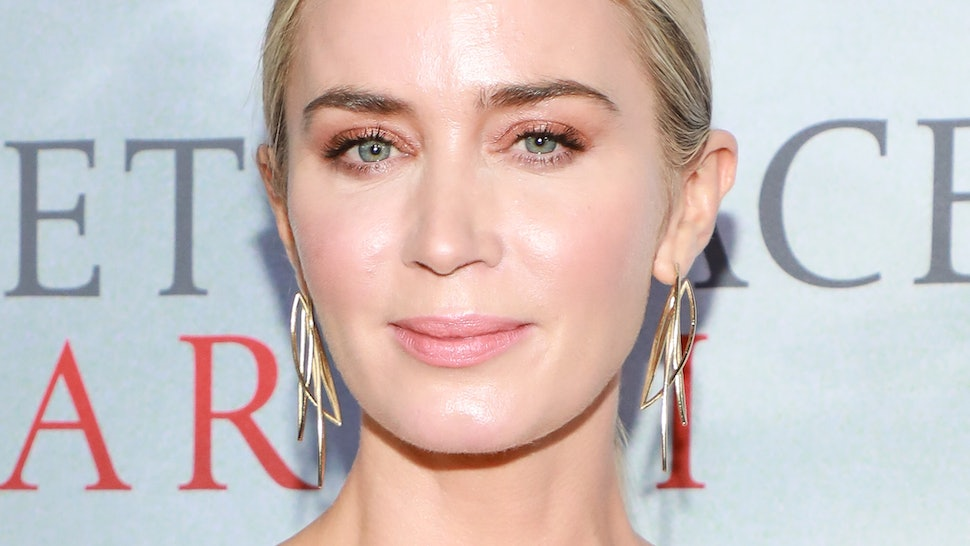 Judi Dench talked Emily Blunt out of pursuing a singing career.