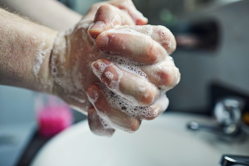 A person lathers their hands with soap. You've heard that washing your hands for 20 seconds is important -- but why?