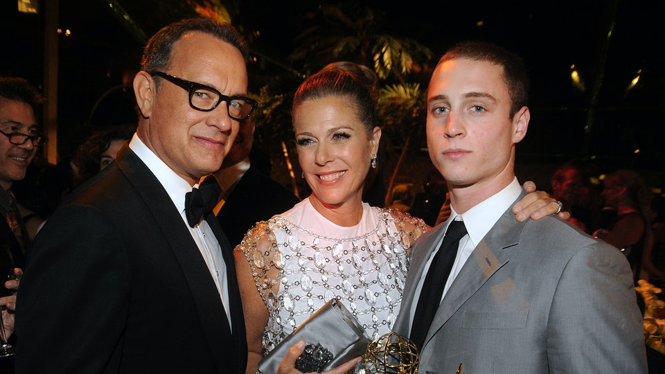 Tom Hanks' sons, Chet and Colin Hanks, took to social media after their parents came down with coronavirus while in Australia.