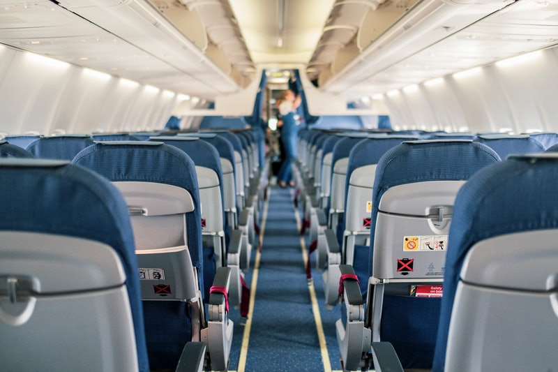 An empty plane. Flight attendants tell us how their industry has been disrupted by coronavirus fears.