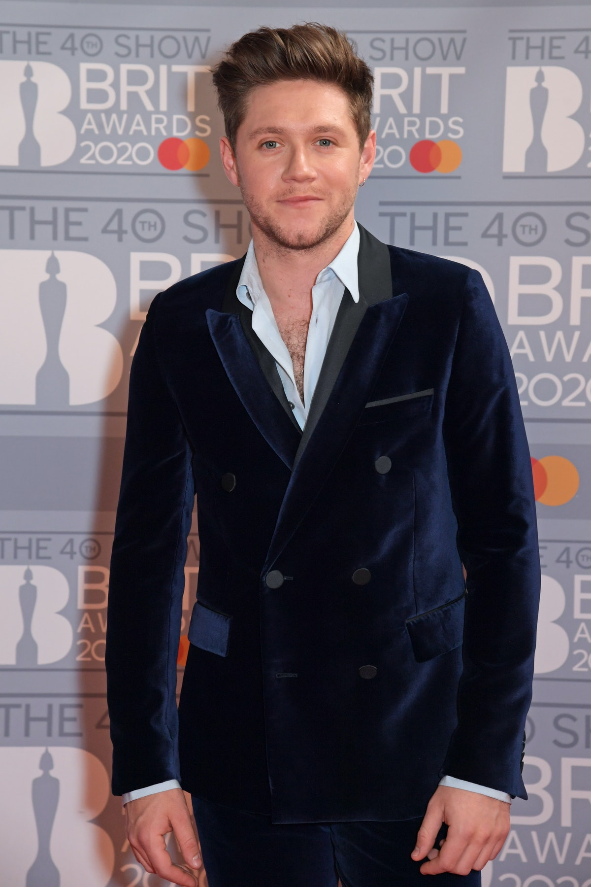 Niall Horan at the 2020 Brit Awards, where he caught up with fellow One Direction member Harry Styles. Niall Horan's story about meeting up with Harry Styles will make fans smile.