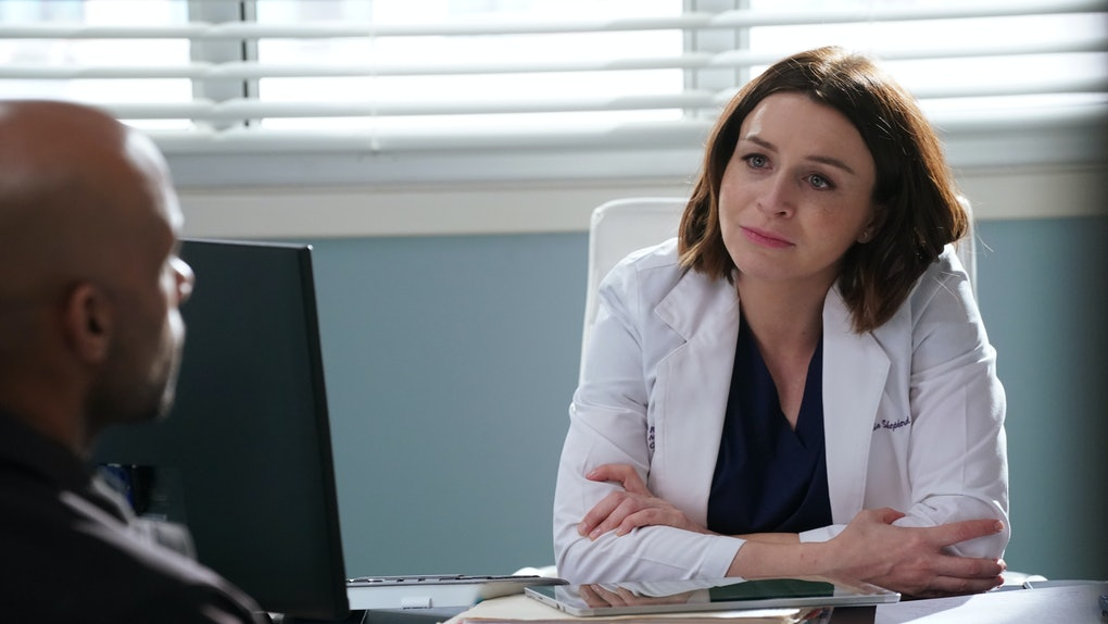 Amelia on 'Grey's Anatomy'