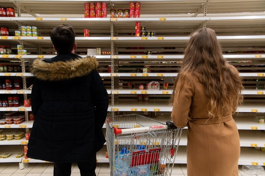 Panic buying is a privilege many families can't afford.