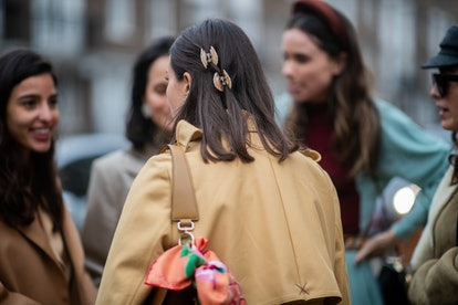 Spring 2020 Hair Accessory Trend: Claw clips.