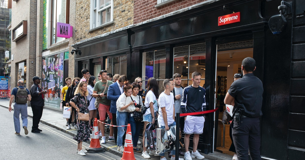 Supreme drops will be online-only temporarily due to coronavirus outbreak