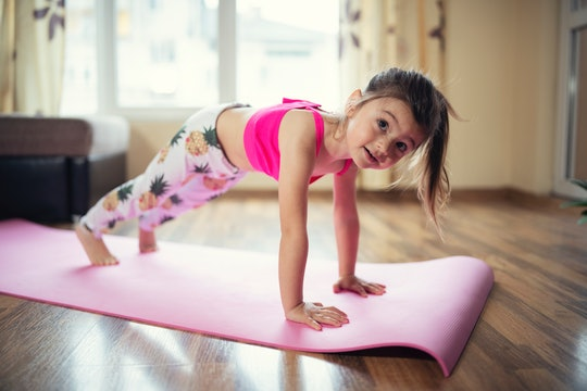 These online exercise videos and yoga practices for kids can help them keep moving while stuck at home.