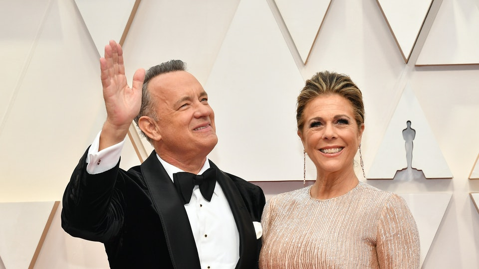 "One week after testing positive for the virus, Tom Hanks penned a coronavirus update urging others to help ""flatten the curve."""
