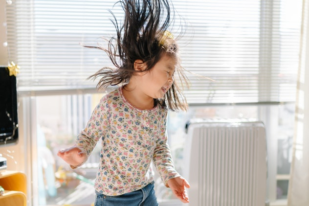 Having a virtual dance party is one way grandparents can connect virtually with their grandkids.