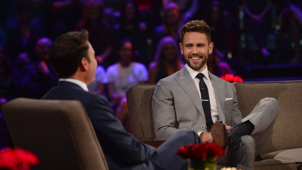 'Bachelor' host Chris Harrison revealed that Nick Viall & Kelley Flanagan got cozy at his party.