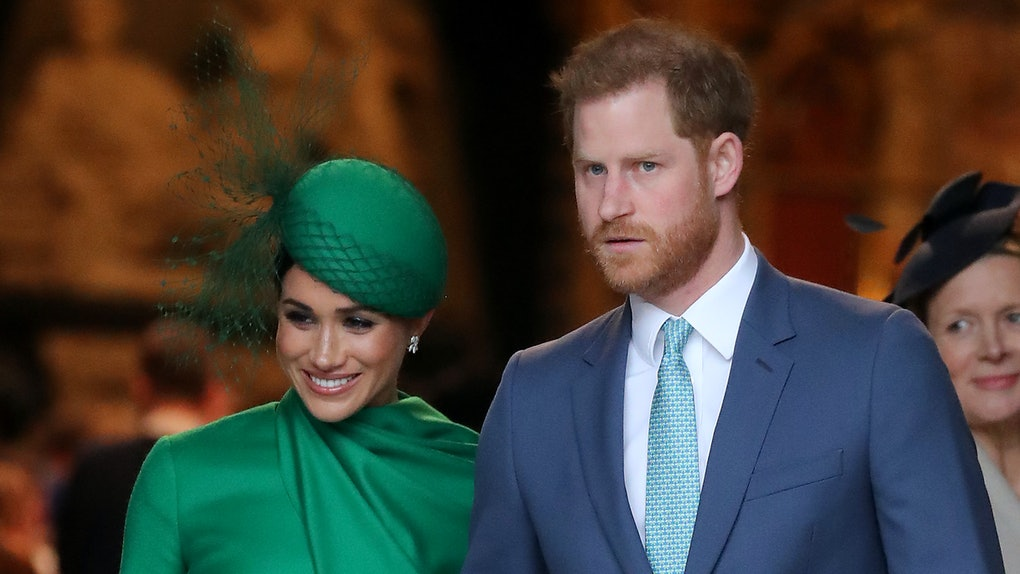 Meghan Markle and Prince Harry make a public appearance.