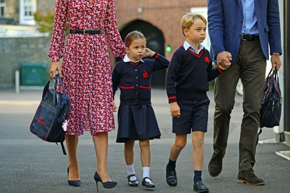 "Prince George and Princess Charlotte's curriculum will be ""taught through online learning platforms,"" the school announced."
