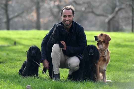 """Kate Middleton's brother James and his dogs enjoyed a """"social distancing"""" dinner party amid COVID-19."""
