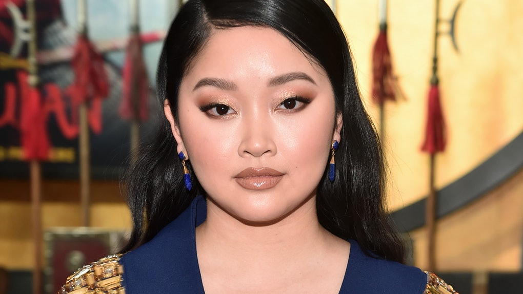 Lana Condor attends the premiere of 'Mulan.'
