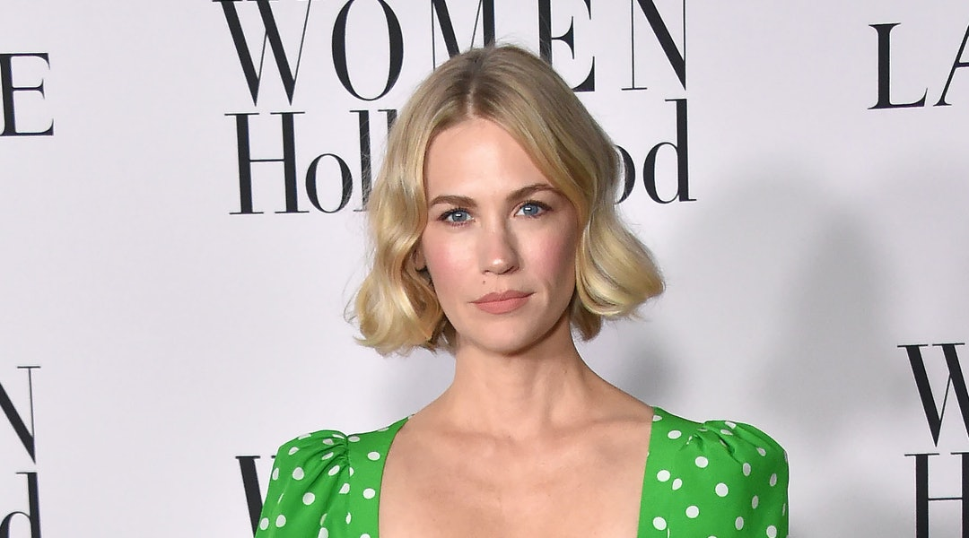January Jones took to Instagram during the coronavirus pandemic to show off her bath routine