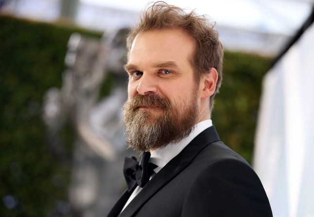 David Harbour appears in both 'Stranger Things' and 'Black Widow'