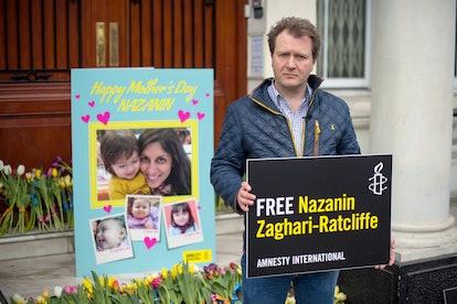 Nazanin Zaghari-Ratcliffe's husband, Richard Ratcliffe, has spoken to his wife about her coronavirus fears