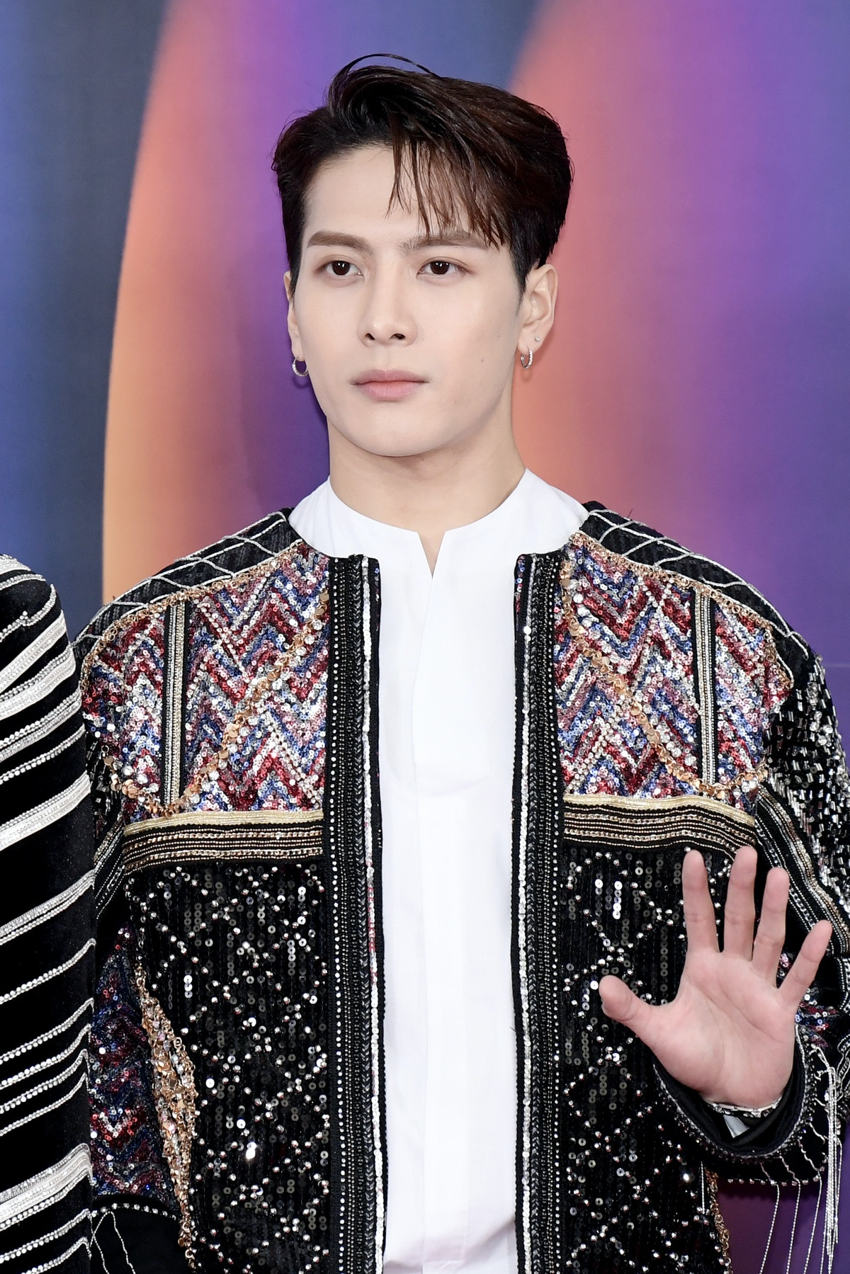 BTS' friends outside of the group include GOT7's Jackson Wang.