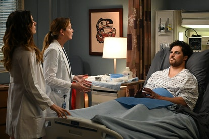 Meredith and Carina suspect DeLuca is showing signs of bipolar disorder on 'Grey's Anatomy'